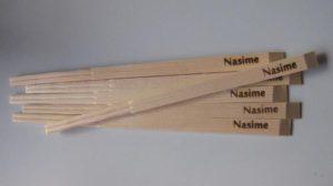 焼印を押した割箸