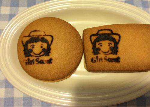 クッキーに焼印