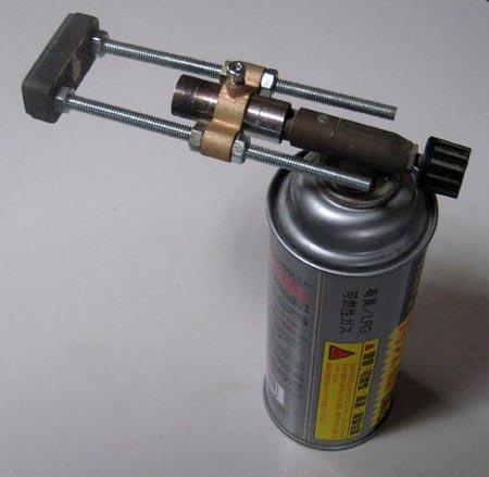 大型のガス直火式焼印1