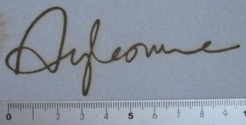 サイン焼印4