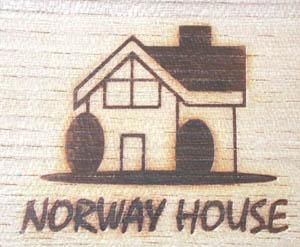 ノルウェーハウス焼印試し押し