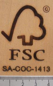 FSC認証焼印3