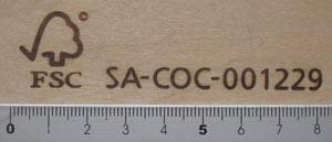 FSC認証焼印5