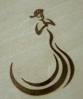 大蛇神輿の焼印2