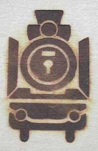 積み木焼印
