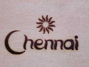 チェンナイの焼印