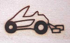 ブライダルカー焼印