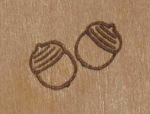 高木様焼印