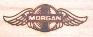 モーガンの焼印