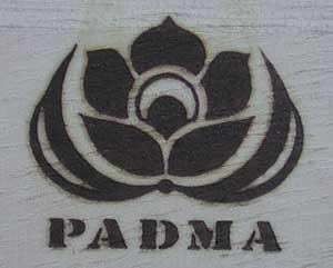 PADMA様焼印