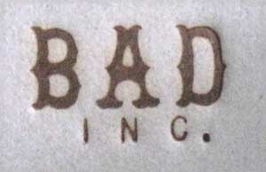 BADINC様焼印