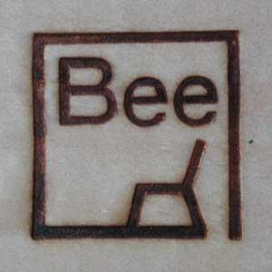 木工四角焼印1