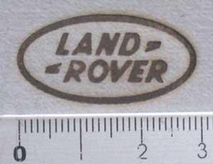 ランドローバーの焼印
