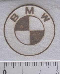 bmwの焼印