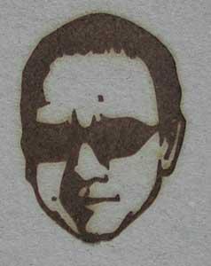 人の顔焼印6