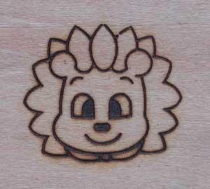 動物キャラクター焼印2
