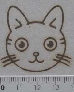 動物キャラクター焼印12