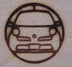日産車焼印