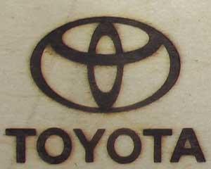 トヨタ自動車焼印1