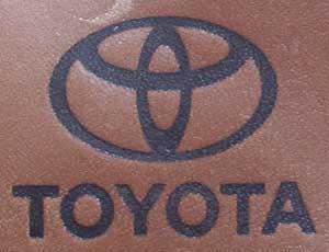 トヨタ自動車焼印2