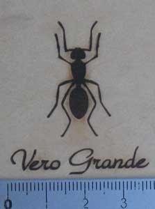 アリの焼印