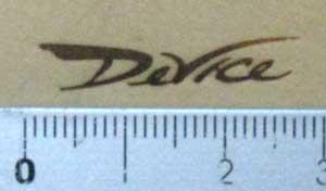 デバイス焼印