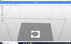 3Dプリンタ画面