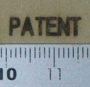 パテント焼印
