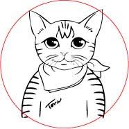 猫祭り焼印データ