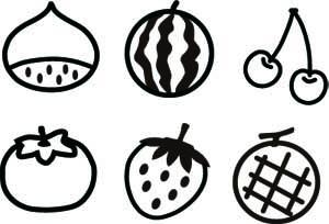 果物焼印グループ2