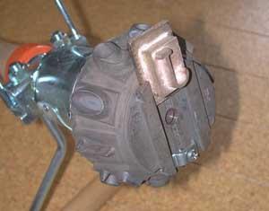 前回製作タイヤ焼印取付