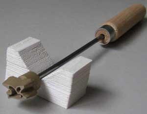カモメミニ焼印