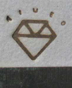 ダイヤ?焼印